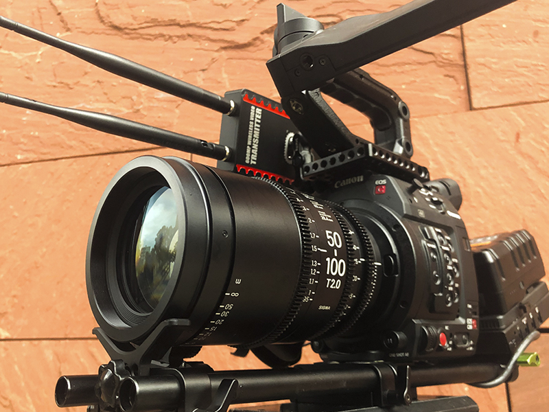 Canon C200 Sigma Art Cine